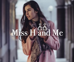 Miss H and me